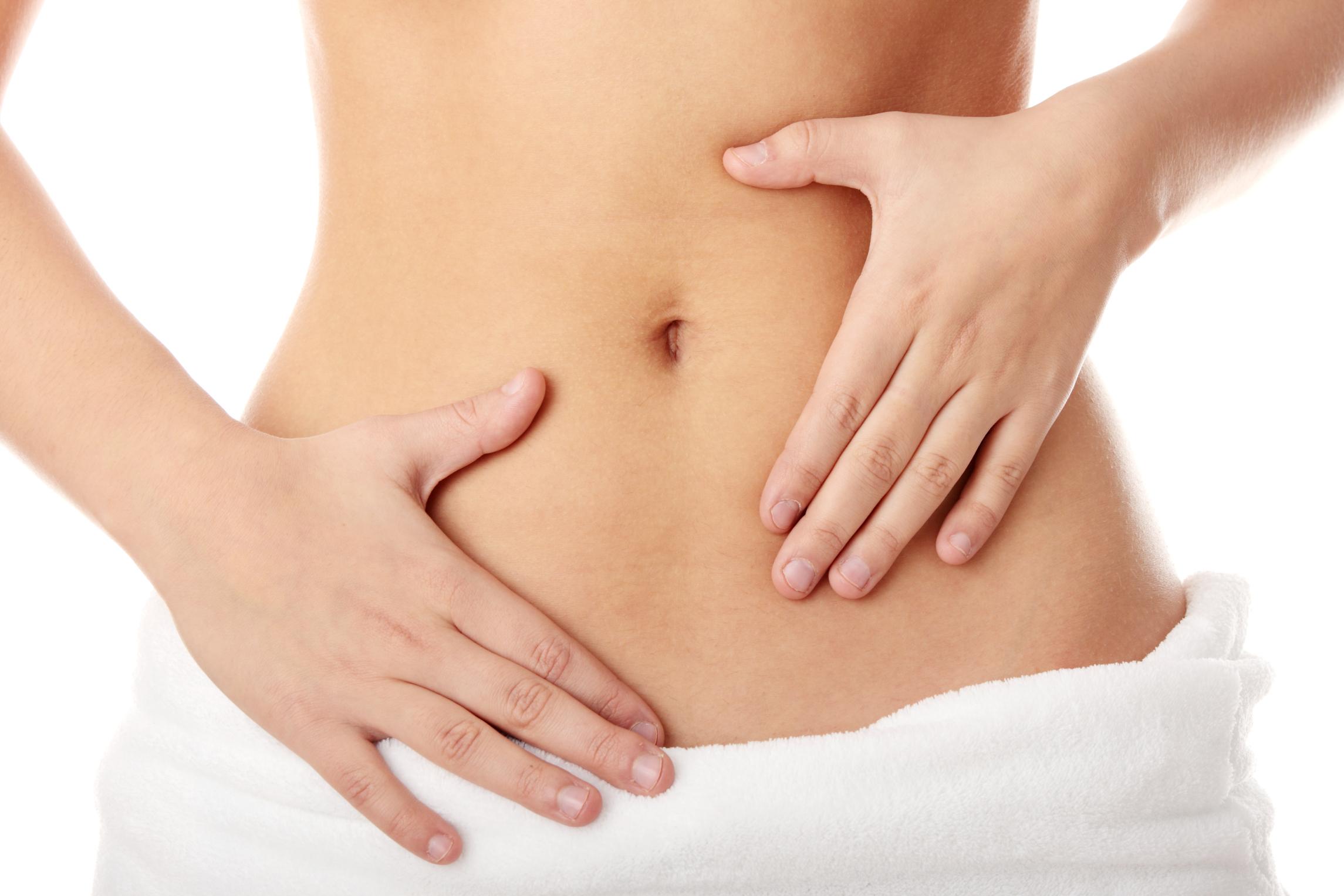 Массаж желудка и кишечника
